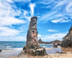 Bãi Đá Nhảy  –  Địa danh du lịch Quảng Bình