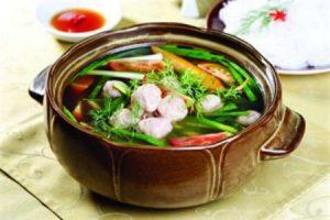 Cá nục nấu canh chua – Món ngon Quảng Bình