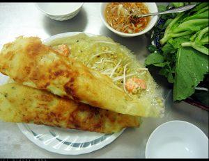 Đặc sản Quảng Bình – Bánh xèo Quảng Hòa