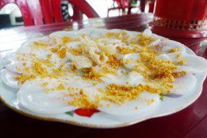 Đặc sản Quảng Bình: Bánh bèo tôm chấy