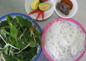 Món ngon Quảng Bình – Rưng rưng bún ruốc xứ Lệ