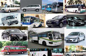 Bảng giá thuê xe du lịch Quảng Bình 2014
