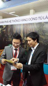 Công ty du lịch Quảng Bình – NETIN tham gia hội chợ du lịch quốc tế VITM