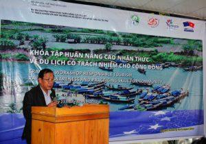 Tập huấn nâng cao nhận thức về du lịch có trách nhiệm cho cộng đồng