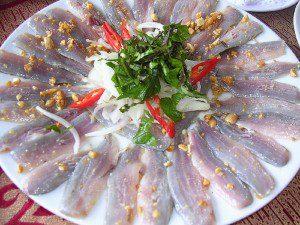 Món ăn từ cá nghéo