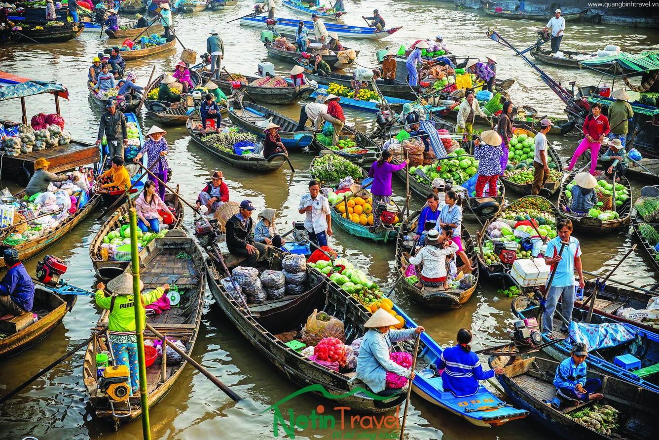 Quảng Bình – Sài Gòn – Tiền Giang – Bến Tre – Cần Thơ – Tp.Hồ Chí Minh – KDL Đại Nam – Quảng Bình