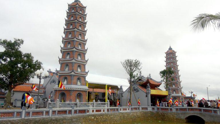 Chùa Hoằng Phúc - điểm du lịch tâm linh ở Quảng Bình