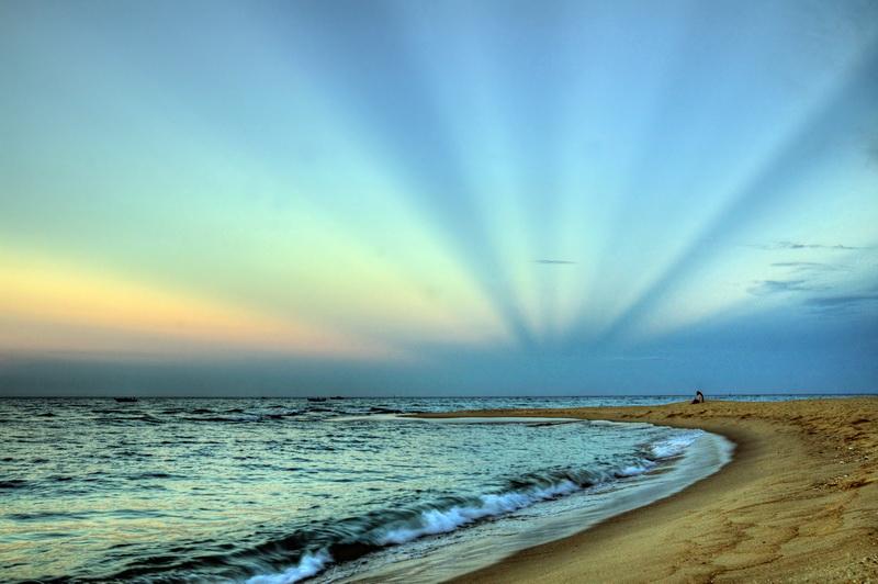 Biển Nhật Lệ - điểm du lịch Quảng Bình