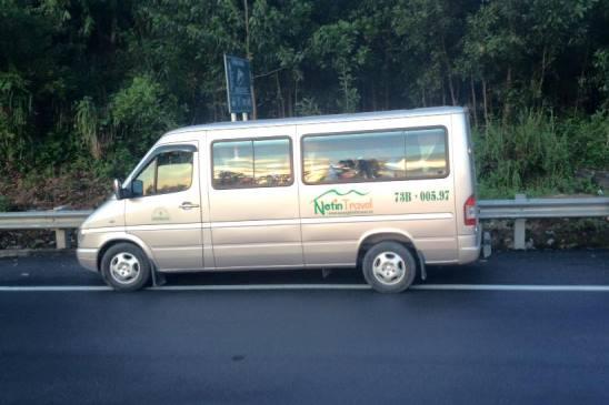 Dịch vụ thuê xe Du lịch Quảng Bình chuyên nghiệp của NETIN TRAVEL