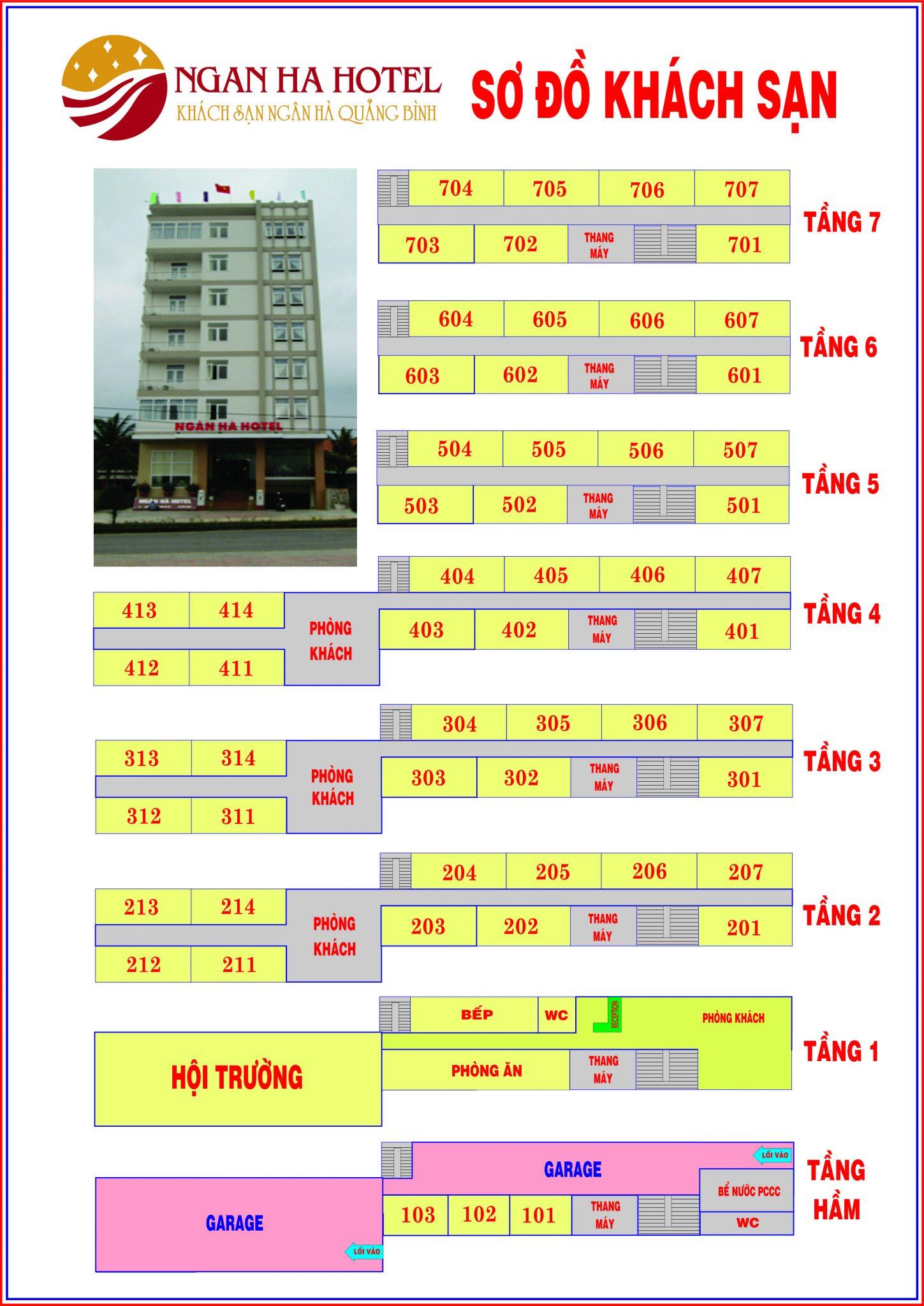 Khách sạn Ngân Hà Quảng Bình