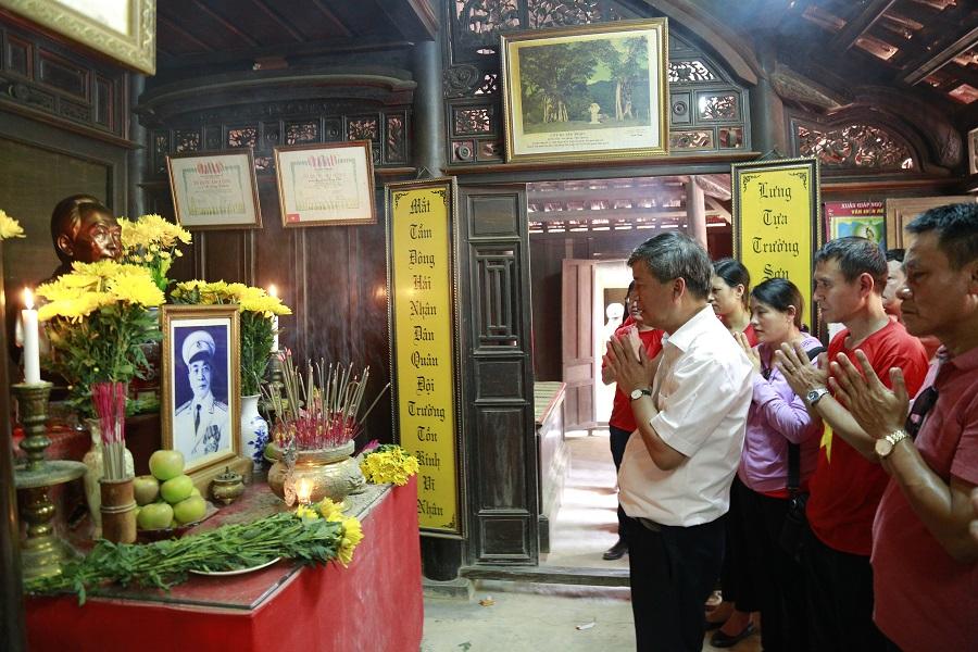 điểm du lịch Quảng Bình - nhà lưu niệm đại tướng