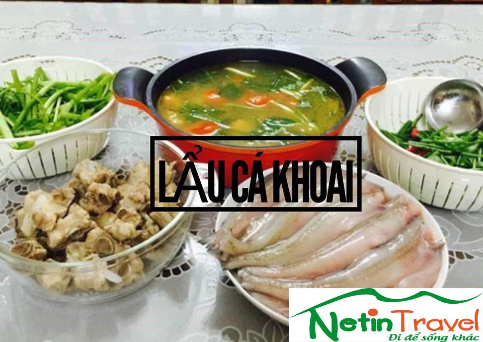 Lẩu cá khoai - Ẩm thực Quảng Bình