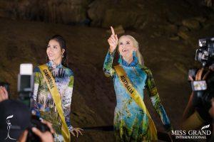76 hoa hậu hòa bình thế giới tham quan Động thiên đường