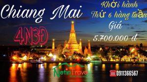 ĐIỂM QUA NHỮNG ĐIỂM ĐẾN ẤN TƯỢNG TRONG TOUR ĐỒNG HỚI – CHIANG MAI 4N3Đ CỦA NETIN TRAVEL