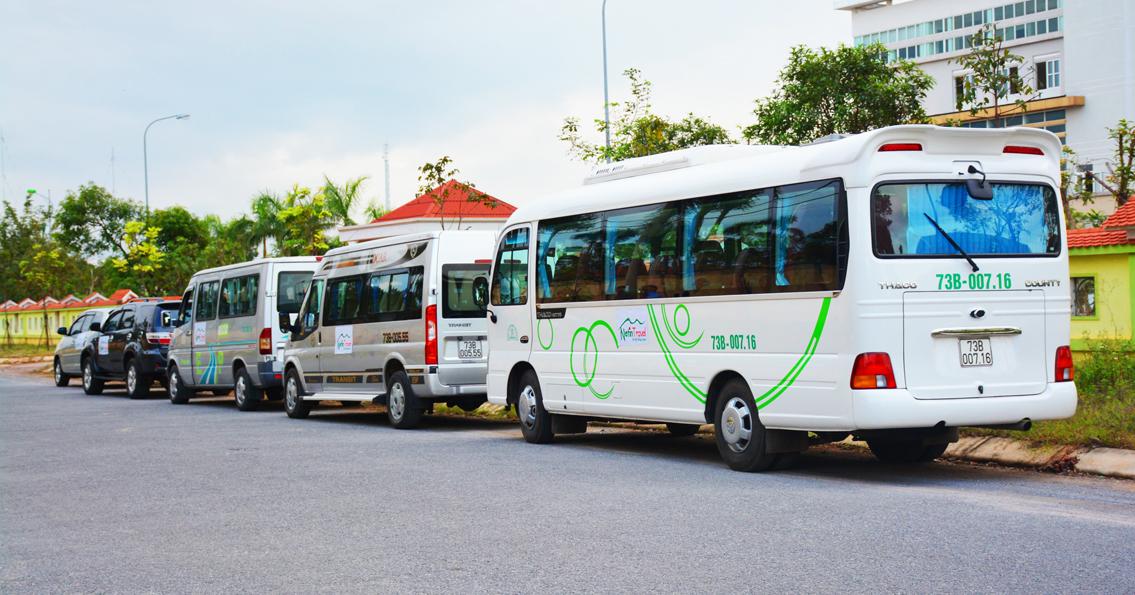 Đội xe Du lịch Quảng Bình chuyên nghiệp từ 4 -45 chỗ
