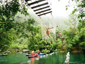 Suối Nước Moọc Quảng Bình mở cửa trở lại phục vụ du khách
