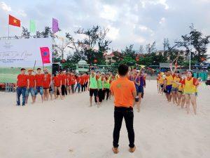 Một số hình ảnh Team Building Quảng Bình được Netin tổ chức