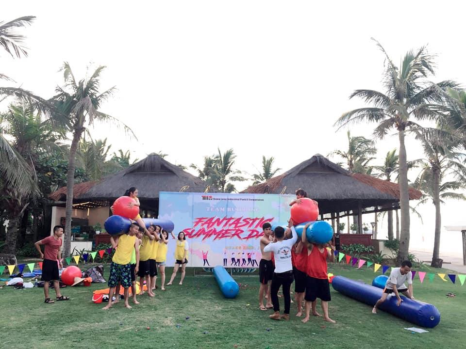 Tổ chức Team Building tại Khách sạn Sunspa Resort