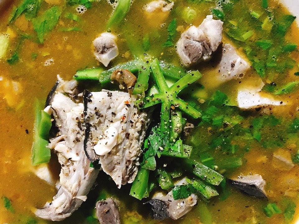 Cá đuối nấu xương rồng