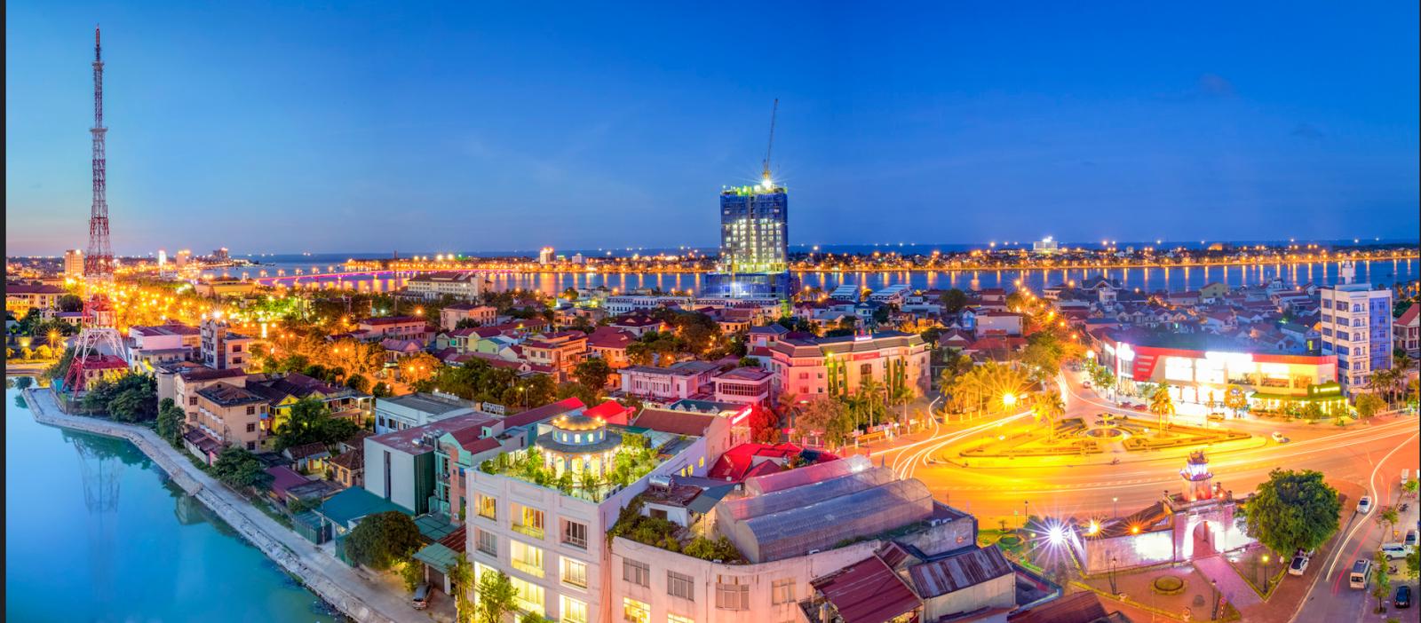 Du lịch thành phố Đồng Hới về đêm