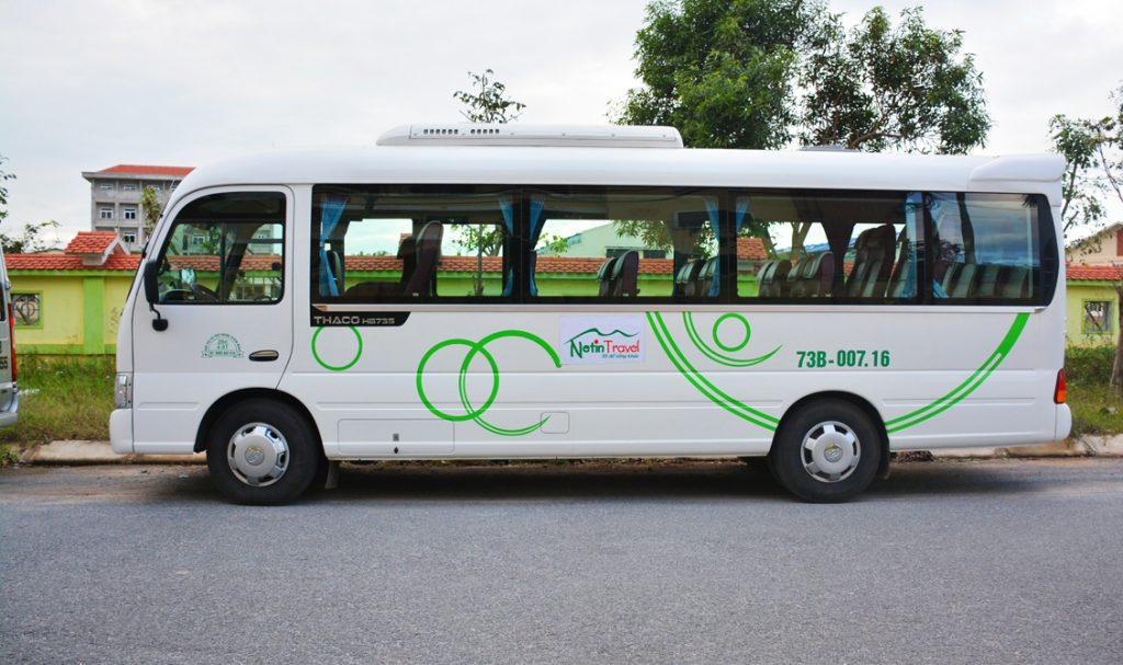 thuê xe 29 chỗ tại Quảng Bình