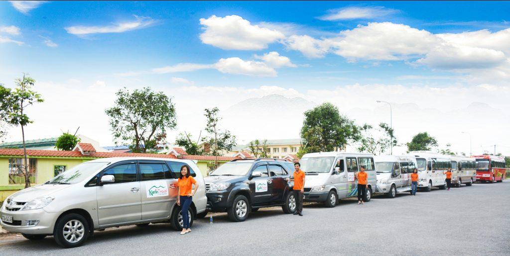 Cho thuê xe Quảng Bình chuyên nghiệp