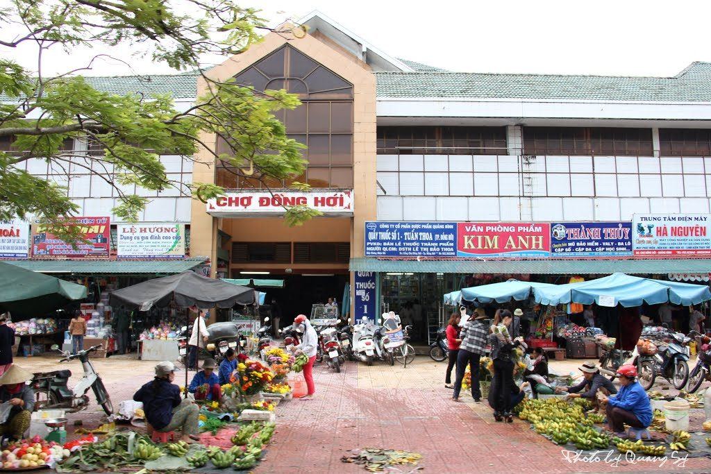Chợ Đồng Hới - địa chỉ mua đặc sản ở Quảng Bình