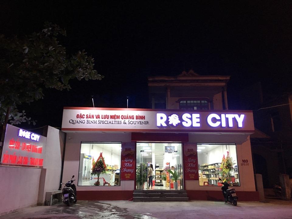 Rose City - Dia chi mua dac san o quang binh