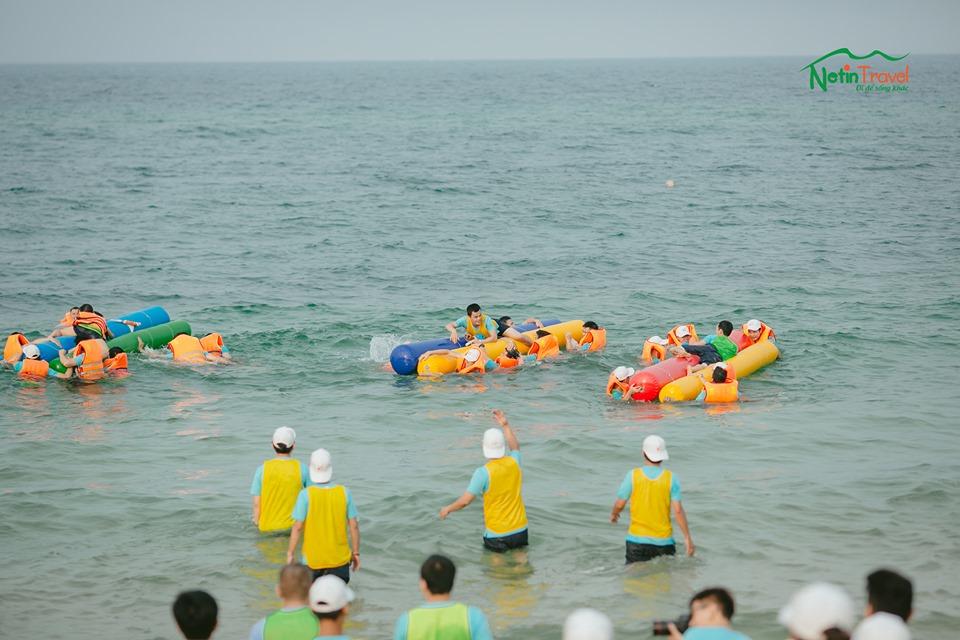 Teambuilding trên biển thật thú vị