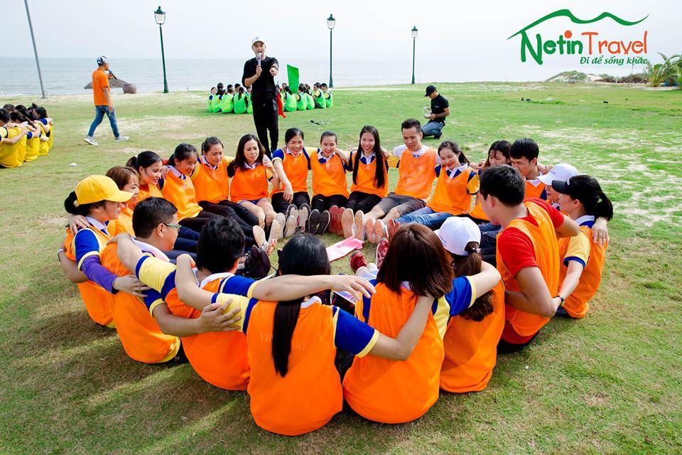 Teambuilding tại bãi biển