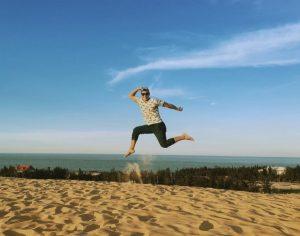 Đồi cát Quang Phú, view đẹp và đáng đi nhất Đồng Hới Quảng Bình.