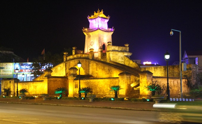Cổng Bình Quan trấn giữ thành phố Đồng Hới- Nguồn Internet