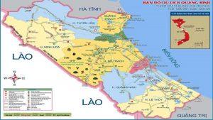 Bản đồ Quảng Bình và các thông tin du lịch cần thiết.