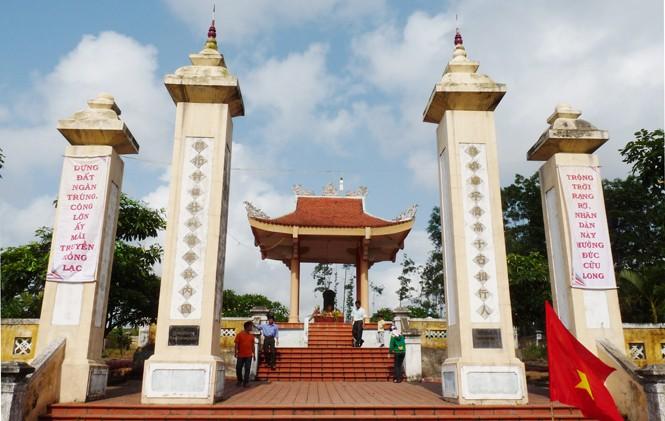 Khu lăng mộ Lễ Thành Hầu Nguyễn Hữu Cảnh - Du lịch Quảng Bình