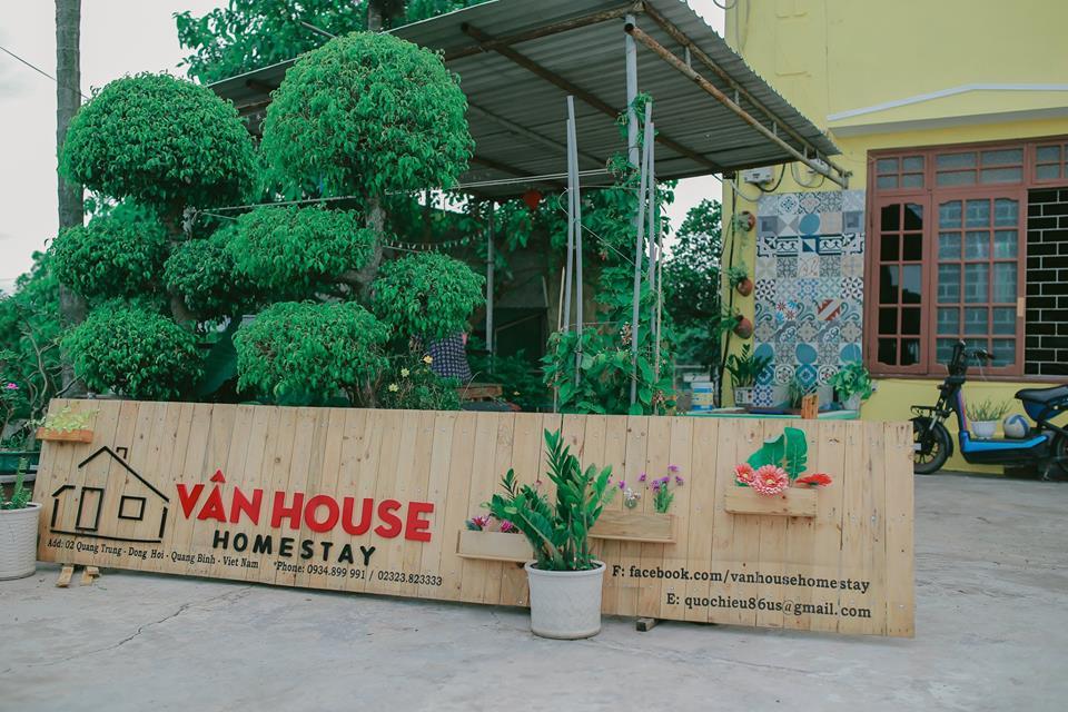 Van House Homestay Quảng Bình