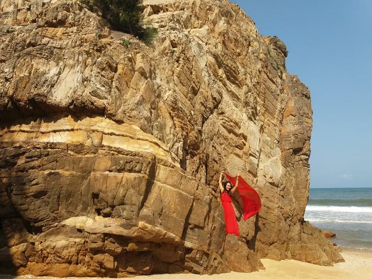 Bãi đá Nhảy - điểm du lịch miễn phí ở Quảng Bình