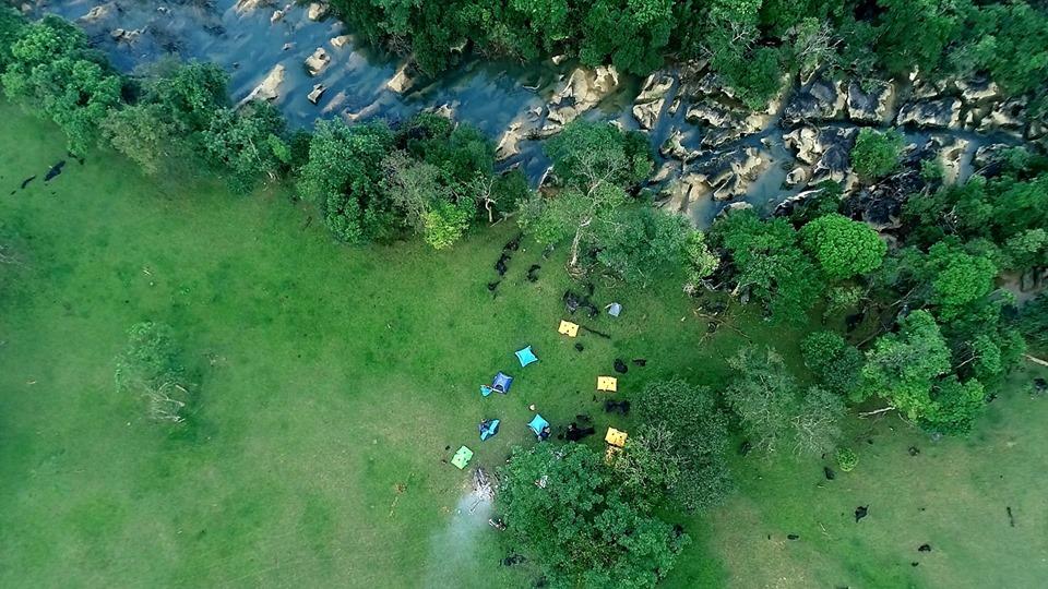 Bãi cắm trại ở Thung lũng tình yêu