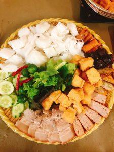 Những quán bún đậu mắm tôm ở Quảng Bình đậm đà hương vị của Hà Nội Phố