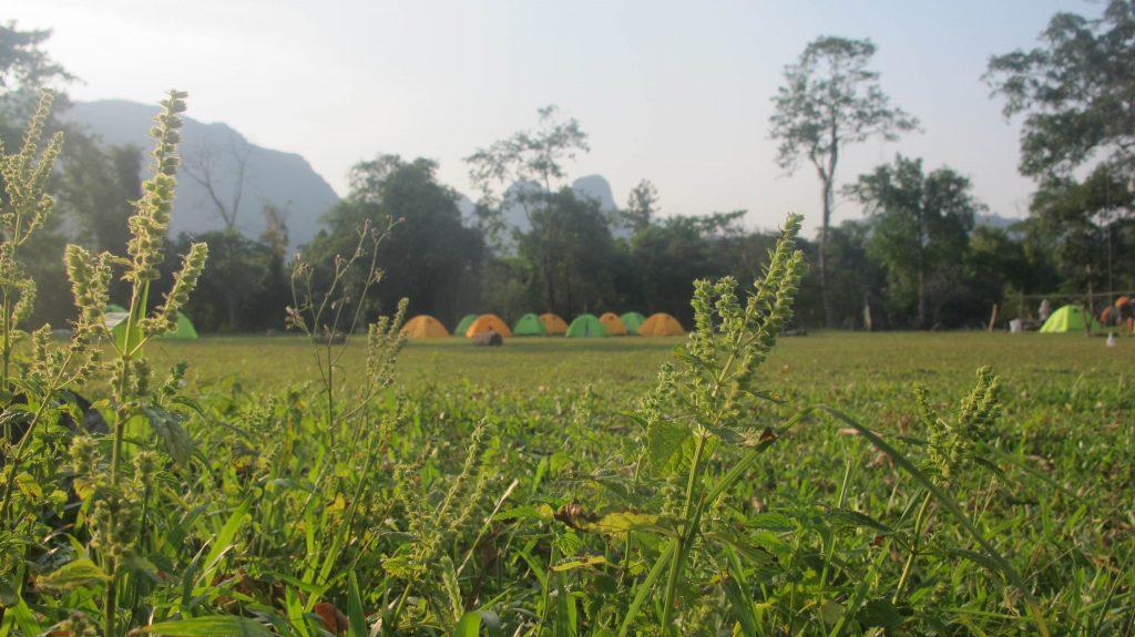 Điểm cắm trại tại thung lũng tình  yêu